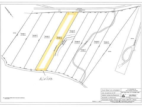 Terrain à vendre à Les Éboulements, Capitale-Nationale, 3004, Rang  Sainte-Catherine, 8673052 - Centris.ca