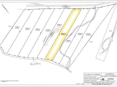 Terrain à vendre à Les Éboulements, Capitale-Nationale, 3006, Rang  Sainte-Catherine, 8673023 - Centris.ca