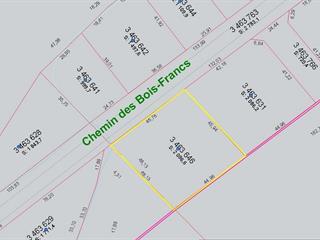 Terrain à vendre à Shawinigan, Mauricie, Chemin des Bois-Francs, 27938852 - Centris.ca