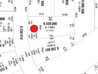 Lot for sale in Saguenay (Jonquière), Saguenay/Lac-Saint-Jean, Rue des Sénateurs, 10554879 - Centris.ca