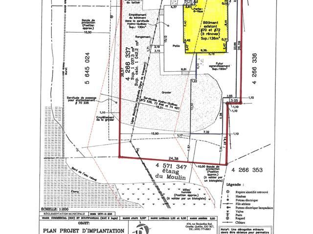 Commercial building for sale in Lac-Brome, Montérégie, 70 - 72, Chemin  Lakeside, 26896813 - Centris.ca