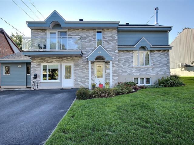 Maison à vendre à Lévis (Desjardins), Chaudière-Appalaches, 40, Rue des Anciens-Combattants, 23638440 - Centris.ca