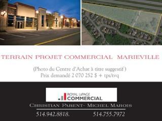 Terrain à vendre à Marieville, Montérégie, Chemin de Chambly, 13994907 - Centris.ca
