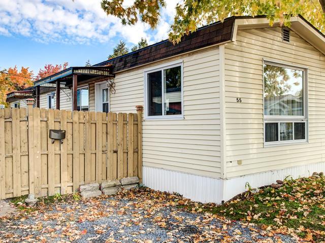Maison mobile à vendre à Longueuil (Saint-Hubert), Montérégie, 4250, Rue  Legault, app. 55, 16696938 - Centris.ca