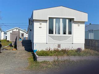 Maison mobile à vendre à Sept-Îles, Côte-Nord, 40, Rue des Fougères, 14817695 - Centris.ca