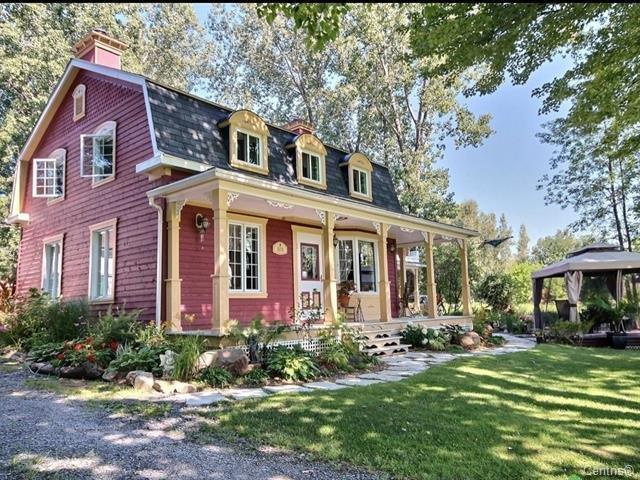 Fermette à vendre à Lanoraie, Lanaudière, 511Y - 511Z, Grande Côte Est, 15917708 - Centris.ca