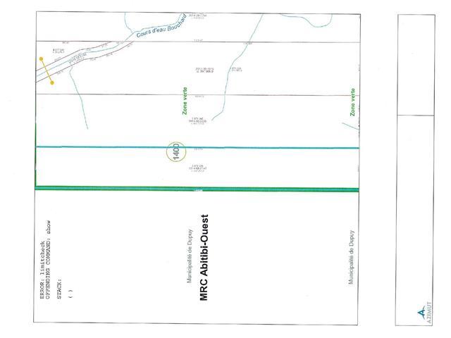 Terre à vendre à La Sarre, Abitibi-Témiscamingue, 10e-et-1er Rang Ouest, 24258682 - Centris.ca