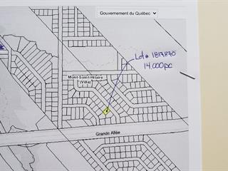 Terrain à vendre à Mont-Saint-Hilaire, Montérégie, 02, Grande Allée, 28751004 - Centris.ca