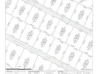Terrain à vendre à Petite-Rivière-Saint-François, Capitale-Nationale, Chemin de la Martine, 14895302 - Centris.ca