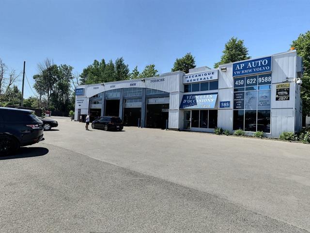 Bâtisse commerciale à vendre à Laval (Sainte-Rose), Laval, 585, boulevard  Curé-Labelle, 17506264 - Centris.ca