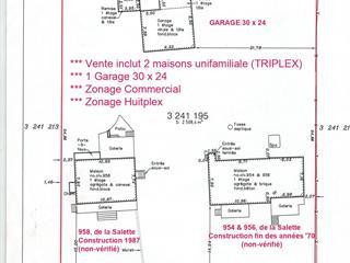 Triplex à vendre à Saint-Jérôme, Laurentides, 954 - 958, boulevard de La Salette, 23344091 - Centris.ca