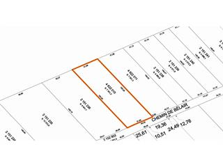 Lot for sale in Québec (La Haute-Saint-Charles), Capitale-Nationale, Chemin de Bélair, 15833249 - Centris.ca