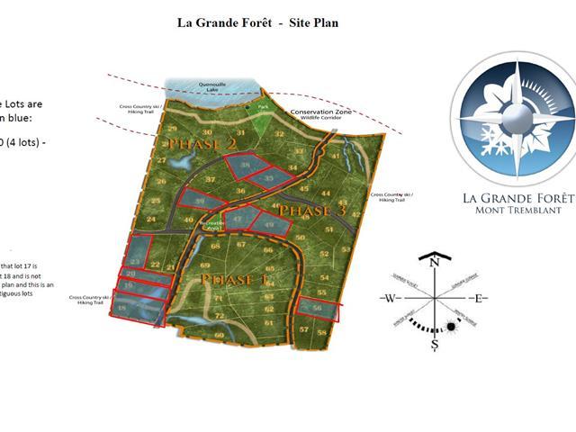 Terrain à vendre à Mont-Tremblant, Laurentides, Chemin du Trappeur, 21413426 - Centris.ca
