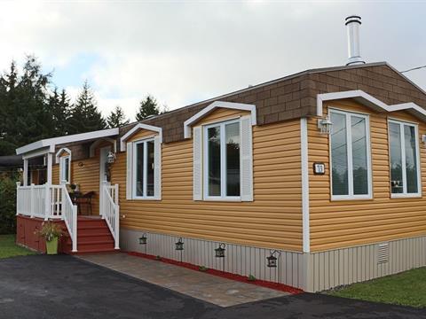 Maison mobile à vendre à Saint-Anselme, Chaudière-Appalaches, 73, Rue du Parc, 15003346 - Centris.ca