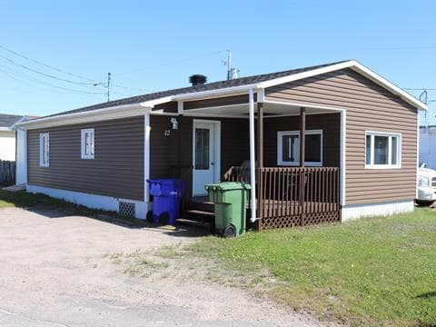 Mobile home for sale in Chute-aux-Outardes, Côte-Nord, 12, Rue du Jardin, 20957483 - Centris.ca