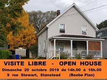 House for sale in Stanstead - Ville, Estrie, 9, Rue  Stewart, 19481416 - Centris.ca