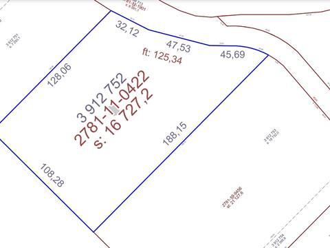 Terrain à vendre à Sainte-Apolline-de-Patton, Chaudière-Appalaches, Rang  Saint-Jean, 21622103 - Centris.ca