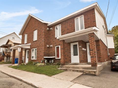 Duplex à vendre à Gatineau (Hull), Outaouais, 60, Rue  Garneau, 14028744 - Centris.ca