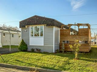 Mobile home for sale in Lévis (Desjardins), Chaudière-Appalaches, 4166, Rue des Fougères, 25422534 - Centris.ca