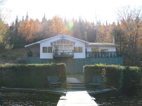 Cottage for sale in La Tuque, Mauricie, Lac  Maxime, 18621920 - Centris.ca