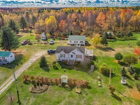 Hobby farm for sale in Saint-Lucien, Centre-du-Québec, 3855Z, 7e Rang, 13239813 - Centris.ca