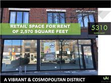Commercial building for rent in Montréal (Côte-des-Neiges/Notre-Dame-de-Grâce), Montréal (Island), 5310, Chemin  Queen-Mary, 24144198 - Centris.ca