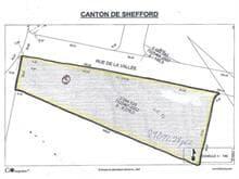 Terrain à vendre à Shefford, Montérégie, Rue de la Vallée, 24324546 - Centris.ca