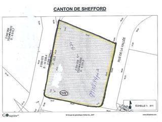 Terrain à vendre à Shefford, Montérégie, Rue de la Vallée, 21939643 - Centris.ca