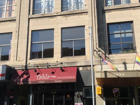 Commercial unit for rent in Ville-Marie (Montréal), Montréal (Island), 1331, Rue  Sainte-Catherine Est, 23258456 - Centris.ca