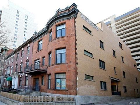 Quadruplex for sale in Ville-Marie (Montréal), Montréal (Island), 1929, boulevard  De Maisonneuve Ouest, 23506398 - Centris.ca