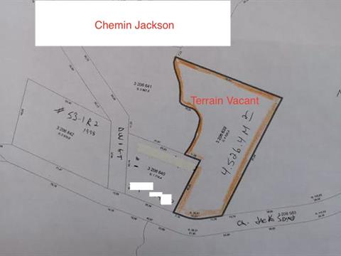 Lot for sale in Morin-Heights, Laurentides, Chemin  Jackson, 17863429 - Centris.ca