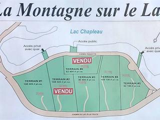 Lot for sale in La Minerve, Laurentides, 5, Chemin  Paquette, 19185223 - Centris.ca