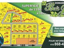 Terrain à vendre à Saint-Antonin, Bas-Saint-Laurent, Rue des Samares, 25341625 - Centris.ca