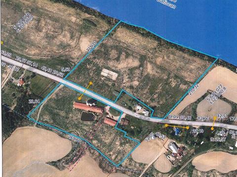 Ferme à vendre à Sainte-Geneviève-de-Batiscan, Mauricie, 127 - 128, Rang  Côte Sud, 10935684 - Centris.ca