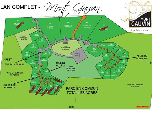 Lot for sale in Saint-Étienne-de-Bolton, Estrie, 27, Allée du Panorama, 27867589 - Centris.ca
