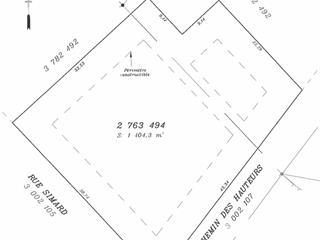 Terrain à vendre à Saint-Hippolyte, Laurentides, Rue  Simard, 25751346 - Centris.ca