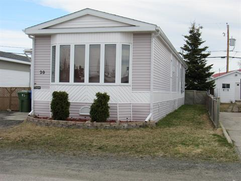 Mobile home for sale in Sept-Îles, Côte-Nord, 20, Rue des Mouettes, 15357033 - Centris.ca