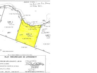 Lot for sale in La Pêche, Outaouais, 100A, Chemin des Pins-Blancs, 16294334 - Centris.ca