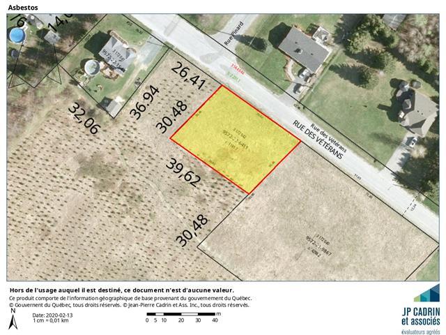 Terrain à vendre à Asbestos, Estrie, Rue des Vétérans, 10270983 - Centris.ca