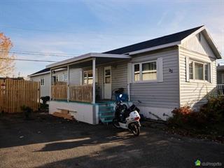 Maison mobile à vendre à Château-Richer, Capitale-Nationale, 7002, boulevard  Sainte-Anne, app. 26, 25788891 - Centris.ca