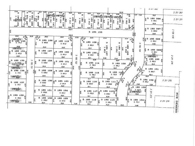 Lot for sale in Saint-Dominique, Montérégie, Rue des Vallées, 27116616 - Centris.ca