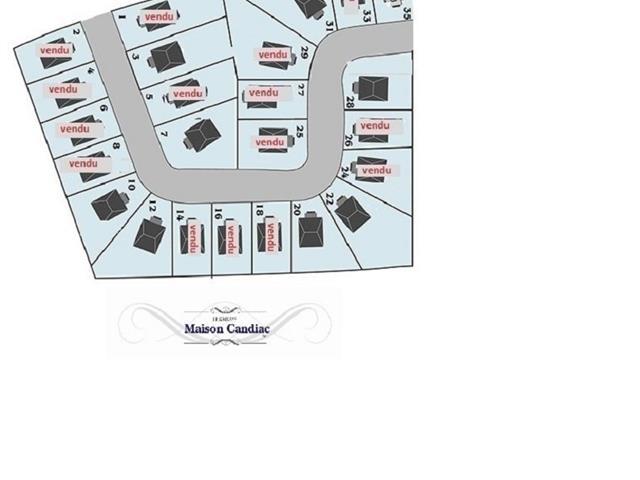 Terrain à vendre à Candiac, Montérégie, 12, Rue de Dieppe, 18384909 - Centris.ca