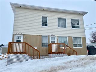 Duplex for sale in Mont-Joli, Bas-Saint-Laurent, 1759 - 1761, Rue  Saint-Onge, 23126605 - Centris.ca