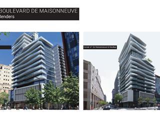 Commercial unit for rent in Montréal (Ville-Marie), Montréal (Island), 1500, boulevard  De Maisonneuve Ouest, suite 8, 17038135 - Centris.ca