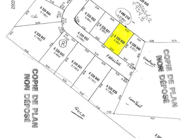 Terrain à vendre à Saguenay (La Baie), Saguenay/Lac-Saint-Jean, 6320850, Rue des Parulines, 20731920 - Centris.ca
