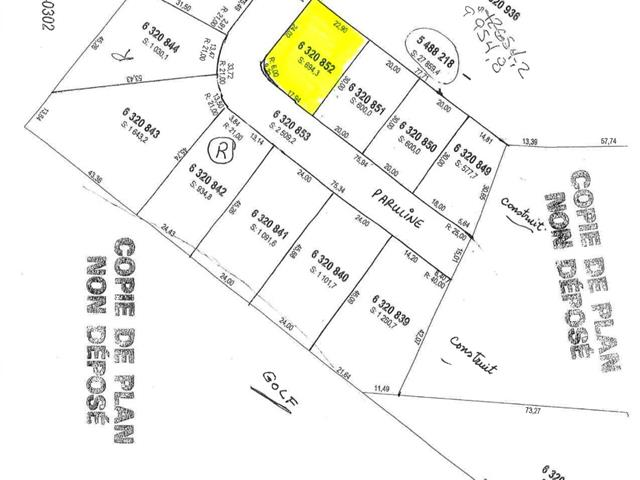 Lot for sale in Saguenay (La Baie), Saguenay/Lac-Saint-Jean, 6320852, Rue des Parulines, 26357150 - Centris.ca