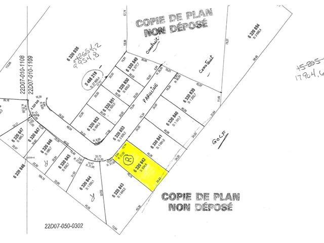Terrain à vendre à Saguenay (La Baie), Saguenay/Lac-Saint-Jean, 6320842, Rue des Parulines, 22911318 - Centris.ca