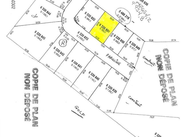Lot for sale in Saguenay (La Baie), Saguenay/Lac-Saint-Jean, 6320851, Rue des Parulines, 14397761 - Centris.ca