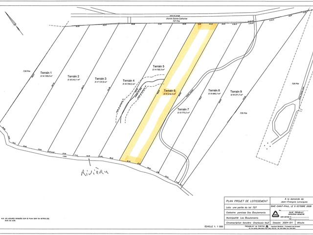 Lot for sale in Les Éboulements, Capitale-Nationale, 3006, Rang  Sainte-Catherine, 12624256 - Centris.ca