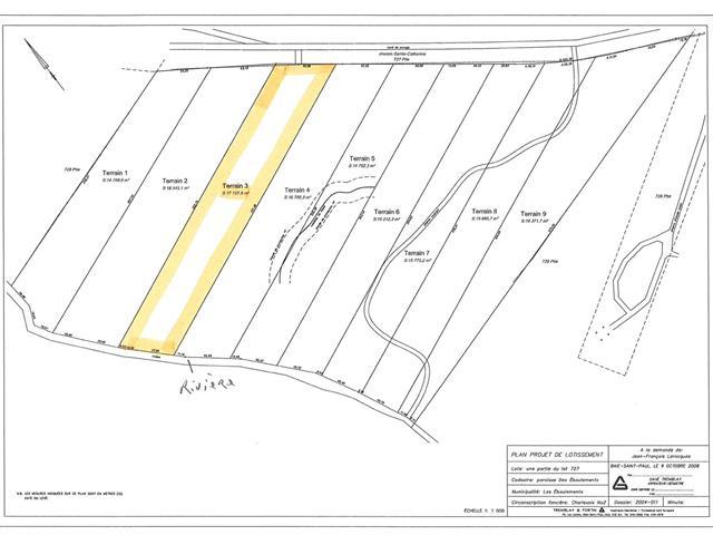 Lot for sale in Les Éboulements, Capitale-Nationale, 3003, Rang  Sainte-Catherine, 24646426 - Centris.ca